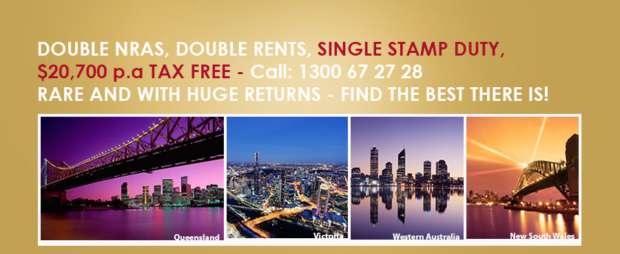 nras australia - double nras - dual key nras investment property
